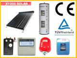 Sistema solar del calentador de agua de la nueva presión partida del diseño