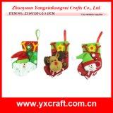 Media del regalo de la Navidad de la decoración de la Navidad (ZY14Y461-1-2)