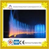 Fontaine de gicleur de fontaine de musique de l'eau