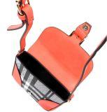 De modieuze Handtassen van het Leer voor Verkoop Funky Gemerkte Handbas van de Handtassen van het Merk van Vrouwen Funky