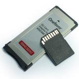 Sxs 카드 급행 카드 접합기로 Xdcam 시리즈 사진기 SDHC Sdxc를 위한 SD 카드 접합기
