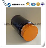 бутылки любимчика микстуры 100ml темного Brown пластичные