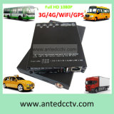 4 Kanal HD SDI Mobile DVR Full 1080P H. 264 Sd Card Mobile DVR mit GPS 3G 4G WiFi