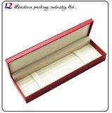 Cadre de mémoire en cuir de luxe d'étalage d'emballage de montre (Sy0104)