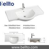 90cm de bovenkanten van Vanity van de kwartssteen voor badkamersmeubilair (QS90)