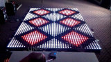 RGB LED Digital Dance Floor para evento de casamento
