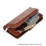 Аргументы за Samsung сотового телефона бумажника кожаный передвижное