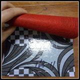 plancher de PVC de support de feutre du rouge 70g/80g