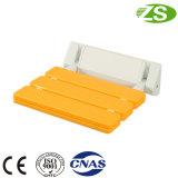 Assento plástico do chuveiro do banheiro Foldable com bom serviço