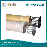 Saco de filtro resistente de alta temperatura de feltro da agulha de Nomex