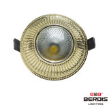 Or 7W DEL Downlight de Franch avec le bâti en alliage de zinc