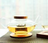 صنع وفقا لطلب الزّبون جميل تصميم زجاجيّة شاي إناء ماء غلاية