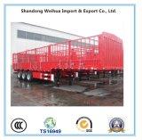 40 toneladas del cargo de la cerca de acoplado semi con la suspensión de tipo americano
