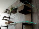 6 - 12 millimètres autoguident l'étagère en verre en verre de flottement de meubles/ménage