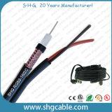 Коаксиальный кабель CCTV Rg59 95% UL ETL Rated США стандартный