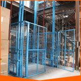 Levages électriques hydrauliques d'entrepôt de longeron de guide de fournisseur de la Chine à vendre