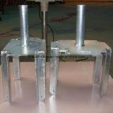 Pista de la fork del andamio para las piezas de la construcción del encofrado