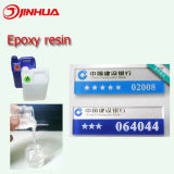 Epoxy clair Coating Resin Crystal Glue pour Nameplate