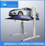 Partage du levage hydraulique de stationnement de véhicule de cylindre de double de poste