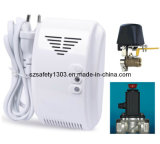 Alarma del escape del gas de la oferta de la fábrica con las válvulas cortadas (SFL-817)