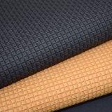 マット表面によって浮彫りにされる人工的なPUの革は、Leatheroid蹄鉄を打つ