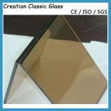 6mm Vidro Reflexivo Baixo-e para Prédios com CE & ISO9001