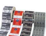 Autoadesivo stampato personalizzato di Upc dell'etichetta adesiva
