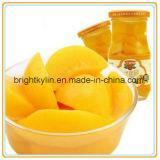 De beste Gele die Perziken van de Kwaliteit in Stroop voor Importeur worden ingeblikt