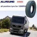 pneu resistente do caminhão 1200r24