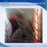 Нержавеющая сталь AISI 316L покрывает фабрику стальной плиты вытравливания