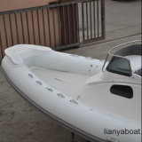Liya 27 ' Fiberglas-Rumpf-Boot Hypalon aufblasbares Rippen-Boot
