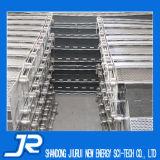Bande de conveyeur de plaque de chaîne de dessus plat