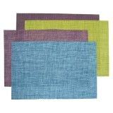 Mix Color 4X4 PVC Woven Placemat