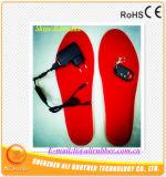 Sottopiede ricaricabile della suola del riscaldamento della batteria dello scaldino del piede