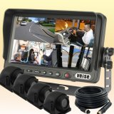 Quad Monitor를 가진 7 인치 Digital Color Rearview Camera System