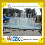 Fontaine ronde carrée extérieure de syndicat de prix ferme avec des lumières de RVB