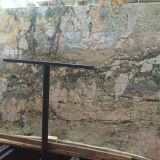 Azulejo de piedra natural de la losa de mármol verde hermosa para la venta