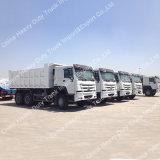 중국 Sinotruk HOWO 6*4 덤프 트럭 25 톤 팁 주는 사람 트럭