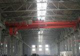 작업장을%s 전기 호이스트 드는 기계장치를 가진 Qd 걸이 브리지 5t 두 배 대들보 천장 기중기