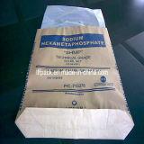 De gelamineerde Zak van de Zak van het Document van Kraftpapier van de Zak Geweven/van de Rijst van pp