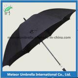 O presente grande da promoção ostenta o guarda-chuva ao ar livre do golfe do uso da chuva e do homem de Sun