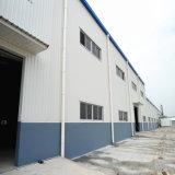 Пакгауз стальной структуры металлической удобной установки полуфабрикат светлый с ISO9001