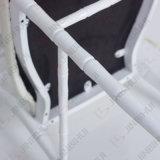 Silla Wedding detrás tapizada negra y roja de la novela (BH-L8815C)