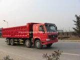 높은 가중치 수용량 HOWO 덤프 트럭 또는 팁 주는 사람