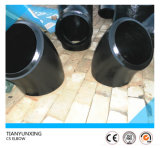 Wp91 codos biselados del tubo de acero de carbón del extremo 45deg LR