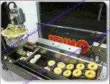 Автоматический миниый донут делая/создатель донута жаря машину