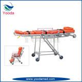 Esticador da ambulância da cadeira de rodas da liga de alumínio