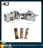 Qualitäts-Teigwaren, die Kissen-Verpackungsmaschine mit 1 Wäger wiegen