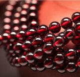 공장 가격 느슨한 물가 소형 빨강 5mm 자연적인 석류석 구슬