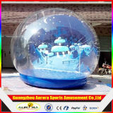 Nuovo Finished Inflatable Snow Globe per Christmas